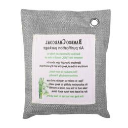 1 Pack 200g/7oz  Bamboo Activated Charcoal Air Purifying Bag