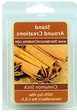 100% All Natural Soy Wax Melt Tart - Cinnamon Stick: A full