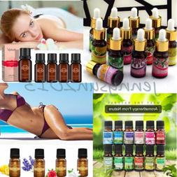 10ml Essential Oil Pure Natural Aromatherapy Fragrance Thera