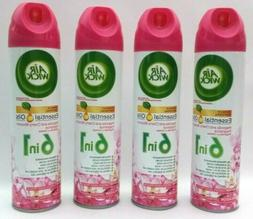 4 pack Air Wick 6 in 1 Spray Magnolia & Cherry Blossom Fragr