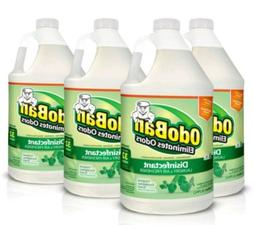 4 packs odor eliminator and disinfectant concentrate