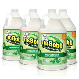 4 PACKS OdoBan Odor Eliminator and Disinfectant Concentrate,
