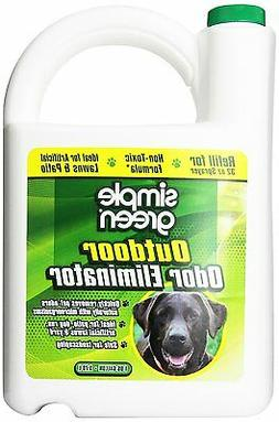 Simple Green Outdoor Odor Eliminator For Pets, Dogs, 1 Gallo