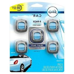 5 FEBREZE Car Air Freshener Vent Clips Eliminates Odors LINE