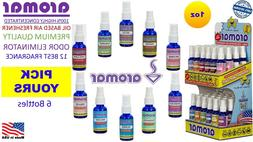 6X AROMAR 100% OIL HIGHLY CONCENTRATED AIR FRESHENER ELIMINA
