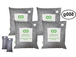 Air Purifying Bags, Car & Pet Odor Eliminator. Natural Activ