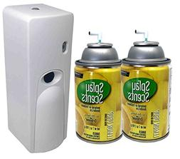 Automatic Spray Air Freshener Kit  Refills with  Dispenser -