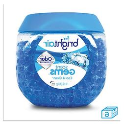 BRIGHT Air® Scent Gems Odor Eliminator, Cool and Clean, Blu