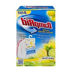 DampRid Hanging Moisture Absorber Citrus Fresh - 3 PK, 1 Box