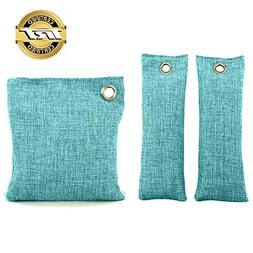 Moso Bamboo Absorber, Charcoal Natural Air Purifying Bags-Fr