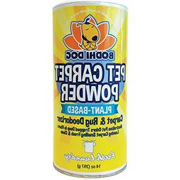 Natural Dog Odor Carpet Powder | Dry Pet Smell Neutralizer a