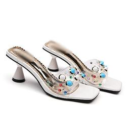 New-Loft Summer Women High Heels Sandals Ladies Fashion Rive