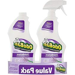 OdoBan 32 oz. Ready-to-Use Lavender Disinfectant Fabric and