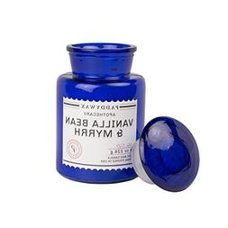 Paddywax Blue Apothecary Collection Scented Soy Wax Jar Cand