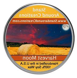 Premium 100% Soy Candle - 8 oz Tureen - Harvest Moon - Fresh