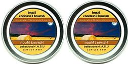 Premium 100% Soy Candles - Set of 2 - 2 oz Tins- Harvest Moo