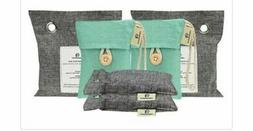 Activated Charcoal Air Purifying Bags 2pc Grey Small Elimina