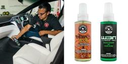Chemical Guys AIR_300 New Car Scent and Leather Combo Pack