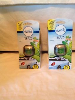 Febreze Air Freshener, Car Vent Clip Air Freshener, with Gai