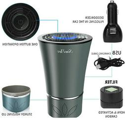 Air Purifier with True Hepa Filter Odor Eliminator Cleaner f