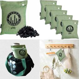 Air Purifying Bag 5X 200 G Activated Bamboo Charcoal Odor El