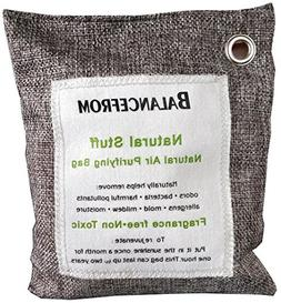 BalanceFrom Natural Air Purifying Bag with Hooks Activated N