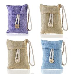 EING Natural Air Purifying Bag,Bamboo Charcoal Air Freshener