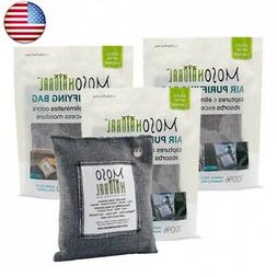 MOSO NATURAL Air Purifying Bags. Odor Eliminator and Odor