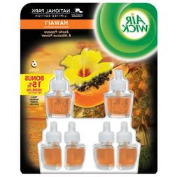 Airwick Scented Oils - Hawaii - 6 Refills Long-lasting Fragr