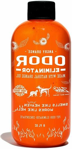 Angry Orange Pet Odor Eliminator for Dog and Cat Urine, Make