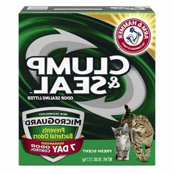 Arm & Hammer Clump and Seal Litter with Micro Guard, 28 lbs