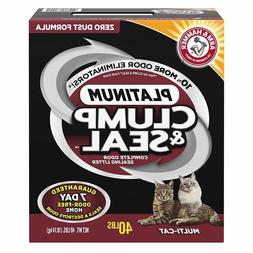 Arm & Hammer Clump And Sealing Platinum Litter Multi-Cat Odo