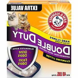 Arm & Hammer Double Duty Advanced Odor Control Clumping Cat