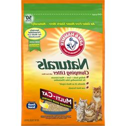 Arm & Hammer Naturals, Multi-Cat Litter, 18lb