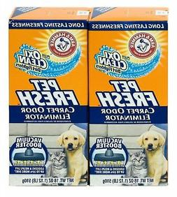 Arm & Hammer Pet Fresh Carpet Odor Eliminator Plus Oxi 18 OZ