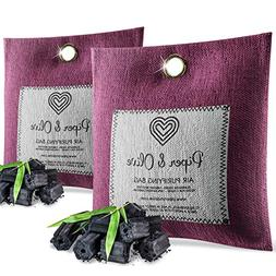 Piper and Olive 2-Pack Bamboo Activated Charcoal Air Freshen