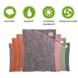 DDLBiz Natural Bamboo Charcoal Air Purifying Bag, Odor Elimi