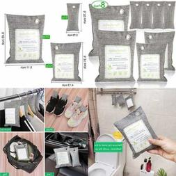 Bamboo Charcoal Air Purifying Bags Odor Eliminators For Home