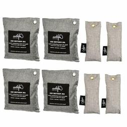 Bamboo Odor Eliminator Bags , Bamboo Charcoal Air Purifying