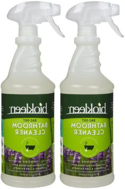 Biokleen Bathroom Cleaner - Lavender/Lime - 32 oz - 2 pk
