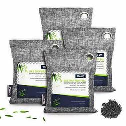BREATHE GREEN BAMBOO CHARCOAL AIR PURIFYING BAG 4-PACK MOLD