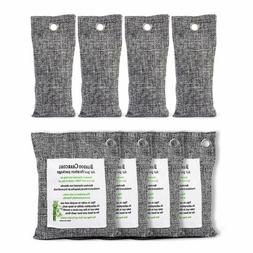 Air Purifying Bag 8 Pack Activated Natural Bamboo Charcoal O