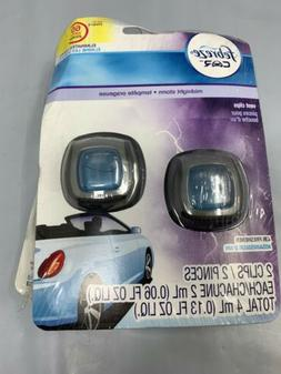 Febreze 2 mL  Car Vent Clips Air Freshener and Odor Eliminat