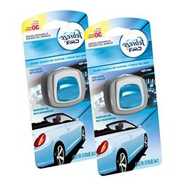 Febreze Car Vent Clips New Car Air Freshener, 2-Count