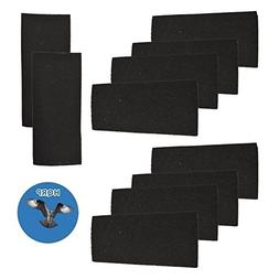 HQRP 10-pack Carbon Filter for Bionaire BAPF31 Replacement f