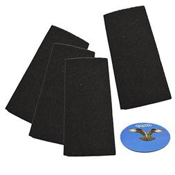 HQRP 4-pack Carbon Filter for Bionaire BAPF31 Replacement fi