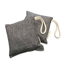 LIFESTYLE BAMBOO Bamboo Charcoal Air Purifier Bags - 2 pack