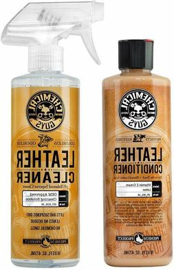 Chemical Guys Leather Cleaner and Conditioner Complete Leath