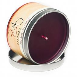 Cinnaberry Spice Scented Soy Candle in 8 oz Travel Tin - Han