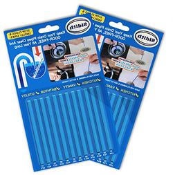 Sidith Clean Sticks 24 Pcs/2Pack Keeps Drains &Pipes Clear A